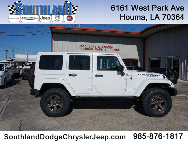 Pre-Owned 2018 Jeep Wrangler JK Unlimited Golden Eagle 4WD