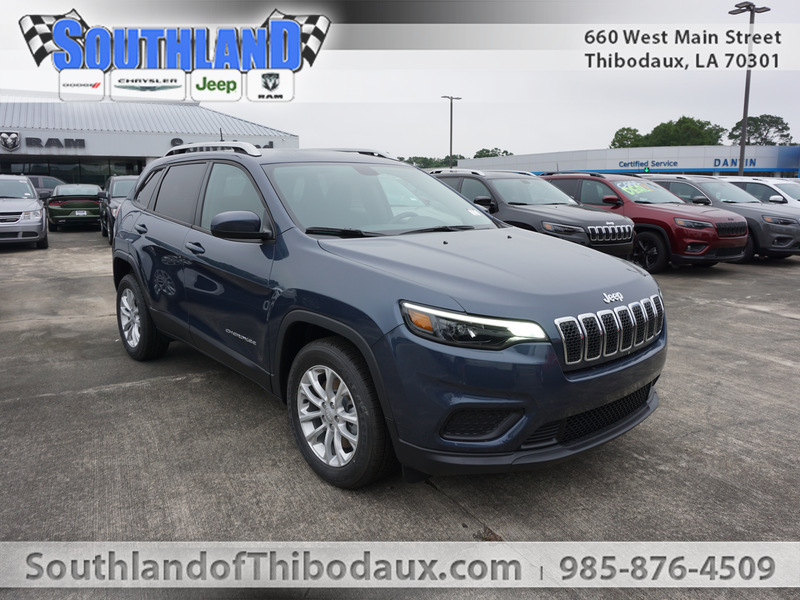 New 2020 JEEP Cherokee Latitude 2WD