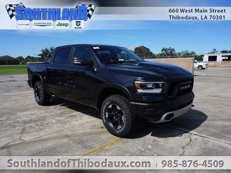 New 2020 RAM 1500 Rebel 4WD 5ft7 Box